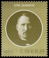 729 - Estonia - 2010 -  J. Jaakson - 1v - MNH - Lemberg-Zp - Estonie