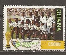 Ghana 2006 Soccer World Cup Obl - Ghana (1957-...)