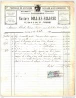 59. Tourcoing  Fabrique De Voitures De Luxe & De Commerces  Gustave Dilles-Selosse - France