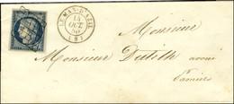 Grille / N° 4 Càd T 15 LE MAS-D'AZIL (8). 1850. - SUP. - 1849-1850 Ceres
