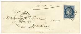 Grille / N° 4 Superbes Marges Càd T 13 AUBUSSON (22). 1852. - TB / SUP. - 1849-1850 Ceres
