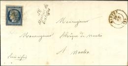 Grille / N° 4 Càd T 15 NANTES (42) Cursive 42 / Montoir De / Bretagne. 1850. - TB / SUP. - R. - 1849-1850 Ceres