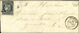 PC 3104 / N° 4 Càd T 15 CAHORS (44) Cursive 44 / St Gery B.RUR. B '' St Cirq Lapopie ''. 1853. - TB / SUP. - R. - 1849-1850 Ceres
