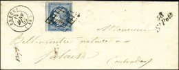 Grille / N° 4 Càd T 15 BRECEY (48) Cursive 48 / St Pois. 1852. - TB / SUP. - 1849-1850 Ceres