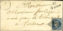 Grille / N° 4 Cursive 63 / Galan. 1850. - TB / SUP. - R. - 1849-1850 Ceres