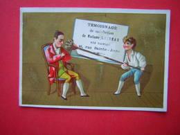 CHROMO / IMAGE COURS D'ECRITURE & CAHIERS TAUPIER 48 RUE SAINTE ANNE PARIS  TEMOIGNAGE DE SATISFACTION DE MADAME LOISEAU - Autres