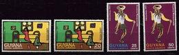 GUYANA 1971 - NAVIDAD - NOEL - CHRISTMAS - YVERT Nº 386/389** - Guiana (1966-...)
