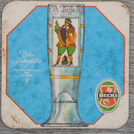 Sous-bock BECK'S Edle Frinkgefasse Deutsches Emailglas Ende 17 Jahrh 3 Bierviltje Coaster (CX) - Sous-bocks