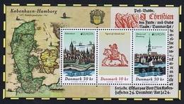 Denmark 2020.  Europa - CEPT; Ancient Postal Routes; Souvenir Sheet, MNH (**) - Neufs