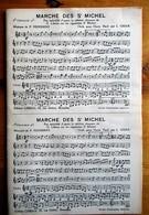 St. Michel (Cigarettes) - Musical Score All Instruments - Marche Des St. Michel (22 Sheets) - G. Libeau - Articoli Pubblicitari