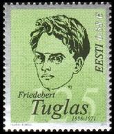 736 - Estonia - 2011 - Author F. Tuglas - 1v - MNH - Lemberg-Zp - Estonie