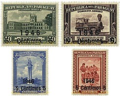 Ref. 56886 * MNH * - PARAGUAY. 1946. BASIC SET . SERIE BASICA - Paraguay