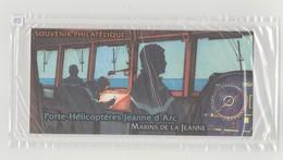 """FRANCE - Bloc Souvenir N° 55 - Neuf Sous Blister - """"Porte-hélicoptères Jeanne D'Arc"""" - - Sheetlets"""