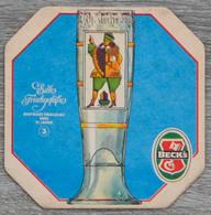 Sous-bock BECK'S Edle Frinkgefasse Deutsches Emailglas 17 Jahrh 3 Bierdeckel Bierviltje Coaster (CX) - Sous-bocks