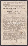 Cornelia Marcelissen, Gastel, 1854-1918 Geh Rockx - Devotion Images