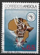 Angola – 1983 OUA Anniversary 6.5 Kz Used Stamp - Angola