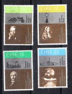 Irlanda - 1981.Inventori Celebri. R. Boyle (legge Gas), Ferguson 8 Trattore), Parsons( Turbina), Holland (sottomarino ). - Physics