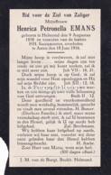 Henrica Petronella Emans, Helmond Asten, 1856-1916 - Devotion Images