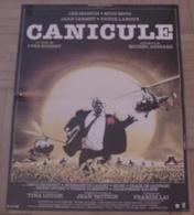 AFFICHE CINEMA ORIGINALE FILM CANICULE BOISSET MARVIN MIOU MIOU CARMET LANOUX LANDI 1984 Michel AUDIARD - Affiches & Posters