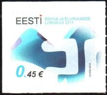 749 - Estonia - 2012 - Population And Housing Census - 1v - MNH - Lemberg-Zp - Estonie