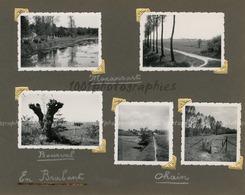 """""""Maransart - Bousval En Brabant - Ohain"""" 5 Tirages Originaux D'époque FG1429 - Places"""