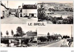51 . N° 48567 . Le Breuil . Vue Generale . Cpsm 14 X 9 Cm. - Andere Gemeenten
