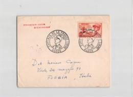 14425 02 PREMIER JOUR D'EMISSION . CAPITALE DE LA FRANCE LIBRE ALGER 1957 - MARECHAL LECLERC - Algeria (1924-1962)