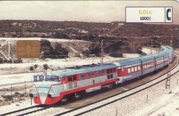TARJETA TELEFONICA DE ESPAÑA USADA. TRENES. (208) - Treinen