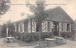 92. N°206256. Bois De Chaville. Ursine. Restaurant Du Pavillon Bleu. Le Grand Salon Rustique - France
