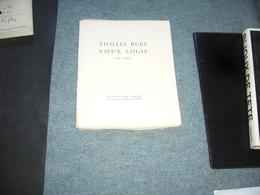 ( Anjou Angers )  CH. Tranchand & M. Alanic  Vieilles Rues Vieux Logis - Pays De Loire