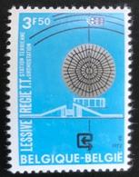 België - Belgique - MNH - Ref B1/13 - 1972 - Michel Nr 1695 - Communicatie Via Satellieten - Belgium