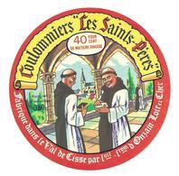 ETIQUETTE De FROMAGE..COULOMMIERS Les Saints Pères..fabriqué Dans Le VAL De CISSE..fromagerie D'ONZAIN (41) - Fromage