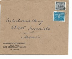 SH 0529. SERVICE Mi 2-33 REISCHOF S/Lettre Vers Tarnoi. TB - 1939-44: World War Two