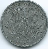 Bolivia - 20 Centavos - 1942 - KM183 - Zinc - Bolivia