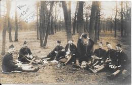 Carte-photo - Groupe De Militaires (écrit Scan 1 Vers 1905 St Cyr Et Au Dos Photo H. NOARI - St Cyr L'Ecole - Characters