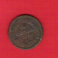Monnaie Française Constitutionnelle Directoire 1 Décime Dupré An 5 (1796) Atelier A Paris G187 - 1789-1795 Period: Revolution