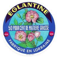 ETIQUETTE De FROMAGE..fabriqué En LORRAINE (Vosges 88-N)..Eglantine - Fromage