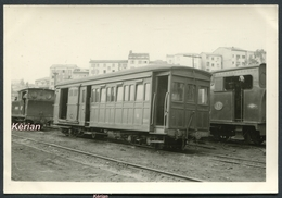 Formao Foto 132 X 90 - Ferrocarril Santander-Mediterraneo ? - Coche Mixto 3a Y Furgon N° CCD-13 - See 2 Scans - Treinen