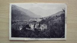 CARTOLINA DA VIGOLO VATTARO TRENTO FORMATO PICCOLA - Trento