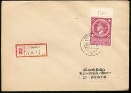 WW II Briefumschl : Mit Adolf Hitler Sonderbriefmarke Gebraucht Adolf Hitler Geburtstag Stempel Görlitz 20.4.1944 - Brem - Germany
