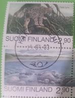 772- Finland - 1994 - Wild Animals Lynx - 2v - MNH - Lemberg-Zp - Unclassified