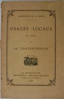 (85) La Chataigneraie, Usages Locaux - Documentos Históricos