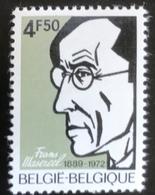 België - Belgique - MNH - Ref B1/13 - 1972 - Michel Nr 1704 - Frans Masereel - Belgium