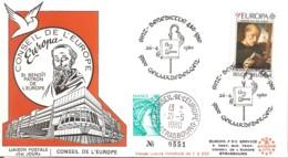 FRANCE / ENVELOPPE BELGIQUE FDC EUROPA 1980 SAINT BENOIT - 1980