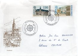 FRANCE / ENVELOPPE FDC EUROPA 1990 - 1990