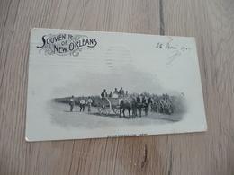 CPA Usa 1903 Souvenir Of Nexw Orléans Sugar Plantation Scène - Autres