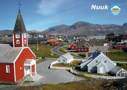1 AK Grönland Greenland * Nuuk Mit Der Erlöserkirche - Sie Ist Das Bekannteste Kirchengebäude In Der Hauptstadt Nuuk * - Groenlandia