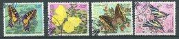 Algerie Ob N° 740 à 743 - Papillons - Argelia (1962-...)