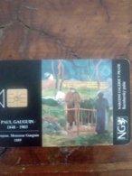 TCHEQUIE PAUL GAUGUIN BONJOUR MONSIEUR GAUGUIN 1889 50U UT - Schilderijen