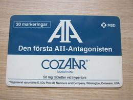 30 Markeringar Chip Phonecard,AII-antagonisten, 2050 Pieces,used - Zweden